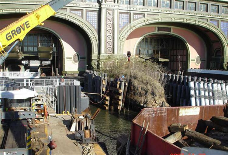 Battery Maritime Building Substructure 03