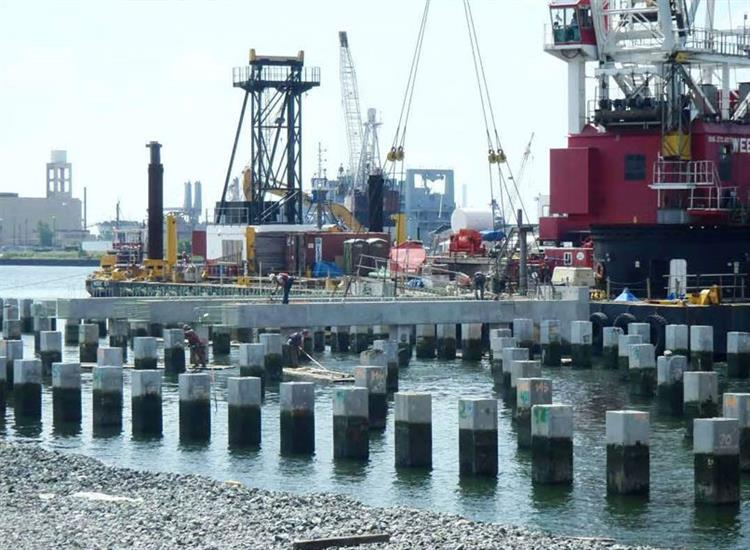 Construction Container Wharf Expansion 02