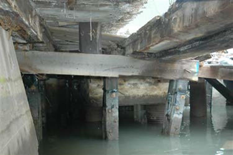 Battery Maritime Building Substructure