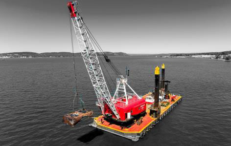 Environmental Dredging, Processing & Post Dredge Capping Placement 01